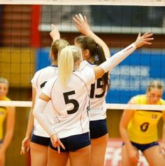 Team Norway at the qualifier for the 2014 CEV U19 Volleyball European Championship - Women