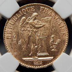 1895 A France 20 Francs Collectible Gold Coin Graded By Ngc Ms 61 – Gold Stream Boutique