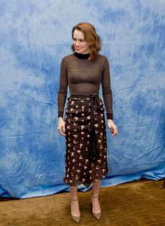 "lovelyridley: """"Daisy Ridley attends the press conference for Star Wars: The Last Jedi in Los Angeles, 19th October 2017. "" """