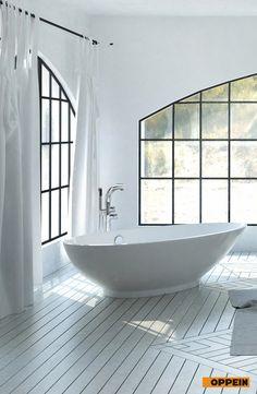 Bathroom in normcore style.