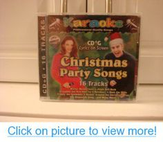 Christmas Party Songs Karaoke CD G