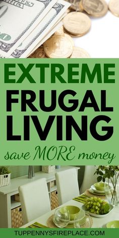 Extreme frugality - what does it mean, can you achieve it & do you want to? Practical tips on how to live super frugally without being an extreme cheapskate Frugal Living Tips, Frugal Tips, Frugal Meals, Saving Money Quotes, Money Saving Tips, Saving Ideas, No Spend Challenge, Money Saving Challenge, Money Plan