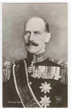 King Haakon VII Norwegian Royalty Norway 1910c RPPC postcard
