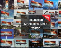 "Check out new work on my @Behance portfolio: ""Bill Board Mockup Bundle"" http://be.net/gallery/50856371/Bill-Board-Mockup-Bundle"