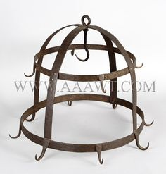 This iron device was usually found in the larder and was used to hang meat and game. (See earlier pin of engraving featuring fowl hanging from similar device). Medieval Recipes, Ancient Recipes, Dog Paw Pads, Dog Paws, Pirate Adventure, Homemade Moisturizer, Larder, Smoking Meat, Crazy Dog