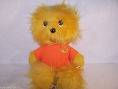 "Vtg 1974 Animal Fair ZAK friend of henry 19"" plush toy"