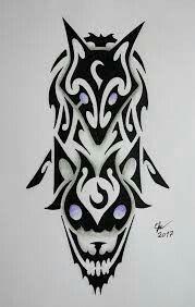 Os Kindred Esboço de Tatuagem ~ créditos, e meu respeito, ao criador