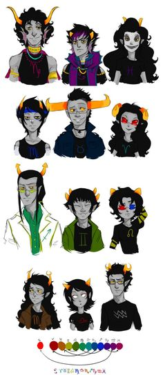 I am officially in love with bloodswaps.<<<Feferi though. And Vriska.
