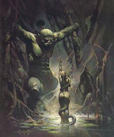 Swamp Demon - Frank Frazetta