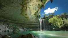 Hamilton Pool Austin, Texas... if the weather wasn't enough for moving here, be jealous.  This doesn't exist in Indiana.