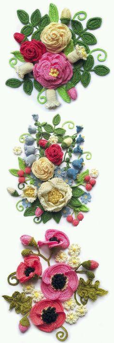 6번째 이미지 Elsa, Crochet Earrings, Flowers