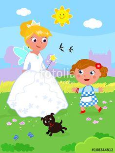 """Scarica il vettoriale Royalty Free  """"The wonderful wizard of Oz 07 Dorothy and Glinda"""" creato da carlacastagno al miglior prezzo su Fotolia . Sfoglia la nostra banca di immagini online per trovare il vettoriale perfetto per i tuoi progetti di marketing a prezzi imbattibili!"""