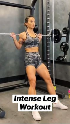 Fitness Workouts, Abs And Cardio Workout, Fitness Workout For Women, Fit Board Workouts, Workout Videos For Women, Gym Workout Videos, Intense Leg Workout, Killer Leg Workouts, Flexibility Workout