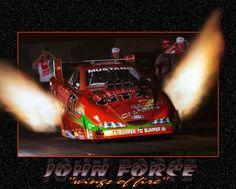 KING OF DRAG RACING, JOHN FORCE