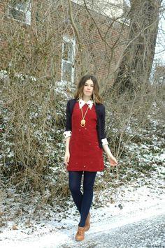 Red vintage jumper