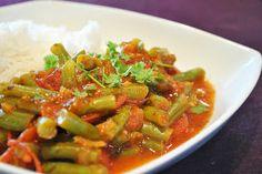Küchenzaubereien: Türkisches Bohnengemüse