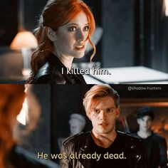 "#Shadowhunters 1x03 ""Dead Mans Party"" - Clary and Jace"
