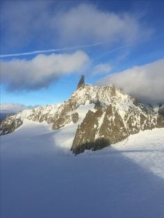 Dente del gigante , monte bianco