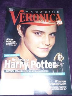 EMMA WATSON on Dutch Veronica magazine (2011)