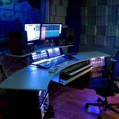 What do you think guys for this awesome studio? 🔥 Comment fast & mention your friends to see this! Music Recording Studio, Audio Studio, Music Studio Room, Recording Studio Design, Studio Desk, Sound Studio, Studio Furniture, Studio Setup, Dj Setup