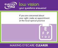 Do you have worries about your eyes? Call your optical practice today and book a check up.