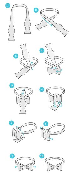 How to tie a bow tie How to tie a bow tie start with the bowtie lying face up. adjust the bowtie so right side is shorter How to tie a bow tie How to tie a bow tie start with the bowtie lying face up. adjust the bowtie so right side is shorter Tie A Necktie, Necktie Knots, Fashion Infographic, Style Masculin, Tie Styles, Mode Masculine, Men Style Tips, Suit And Tie, Mens Fashion