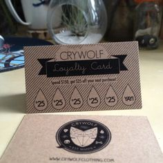 Crywolf loyalty cards are here! Loyalty Card Design, Loyalty Cards, La Coffee, Coffee Shop, Cafe Branding, Coffee Cards, Cool Cafe, Lotion Bars, Nail Spa