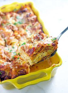 Smoked Sausage and Smoked Tomato Marinara Lasagna. The ultimate in ...