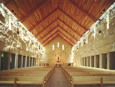 Cistercian Abbey Church, Irving, Texas; designed by Cunningham Architects