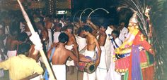 https://flic.kr/p/7GtQox | India, Kerala, Kottayam temple festival | I loved the Kottayam temple festival.  It started in the late evening and continued all night.  Imagine the bleating horns, the rythmic drumming, the swaying elephants, the Kathakali dancers and the excited spectators.
