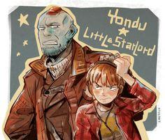 Little Starlord and Yondu