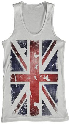 """SNAGGED: """"That's why they call it a union...jack"""" - Graphic Tank - Designed for Bluenotes"""