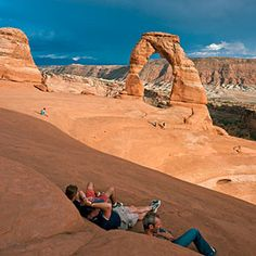 Top 45 hikes in the West | Delicate Arch hike, Arches National Park, UT | Sunset.com