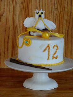 TORTY AŚKI M: Hedwiga  harry potter tort