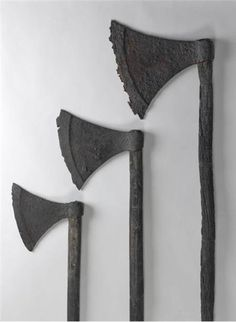 Viking period fighting axe and spear size... -- myArmoury.com
