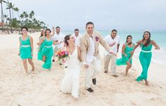 Cristina & Nick's destination wedding in Punta Cana; Punta Cana beach wedding, beach wedding in Punta Cana, beach wedding photography @destweds