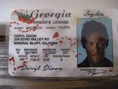 Daryl's License