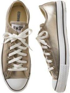 Sneakers: Gold Converse Sneakers                                                                                                                                                                                 Más