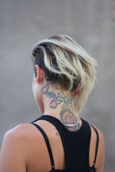 Exactly what I want to grow my hair out to! Hair Inspo, Hair Inspiration, New Hair, Your Hair, Short Hair Cuts, Short Hair Styles, Piercings, Hippie Hair, Edgy Hair