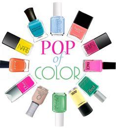 Summer Nail Polishes to Try!   www.lainthebay.com