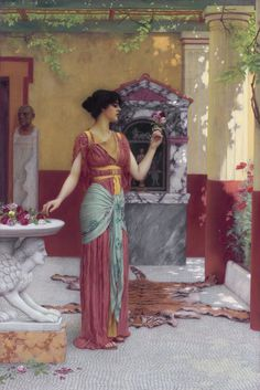 Roman Priestess
