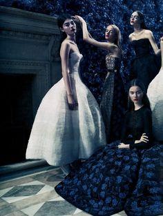 """In the Kingdom of Dior"" Vanity Fair September 2012 #Raf"