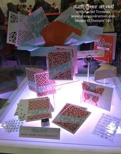 The May 2016 Paper Pumpkin kit, Many Manly Occasions is revealed at OnStage Live… Stampin Up Paper Pumpkin, Paper Crafts, Card Crafts, Craft Kits, Stampin Up Cards, Fun Projects, Pumpkin Ideas, Card Making, Gift Wrapping