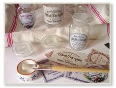 Apothecary Bottles And Vintage Labels