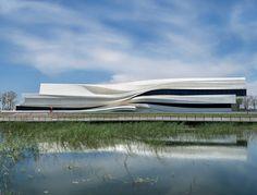 waa Museum of Contemporary Art Yinchuan West Exterior 未觉建筑 银川当代美术馆 西面