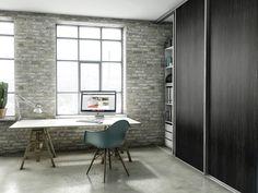 // Image from designa dk Architecture Board, Eames, Corner Desk, Interior Design, Chair, House, Inspiration, Furniture, Decoration