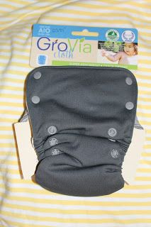Thrifty Nifty Mommy: *Kickin' It Off With Cloth* GroVia AIO ~ Courtesy of Up On The Hill
