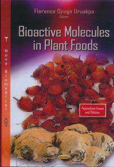 581.19 B56 2014  Moléculas Bioactivas en Alimentos Vegetales. En esta era de alimentos funcionales, cuando la gente prefiere la prevención de la enfermedad al tratamiento, existe la necesidad de un libro que proporcione la penetración en los componentes de los alimentos vegetales que mejoran nuestra salud y la longevidad. Como productos funcionales de alimentos y nutracéuticos existen en la vida cotidiana, la gente necesita ser más educada en lo que la ciencia puede y no puede hacer.