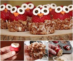 Owl Strawberries