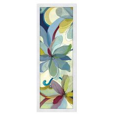 I pinned this Silk Flowers I Wall Art from the Voyage of Color event at Joss and Main!
